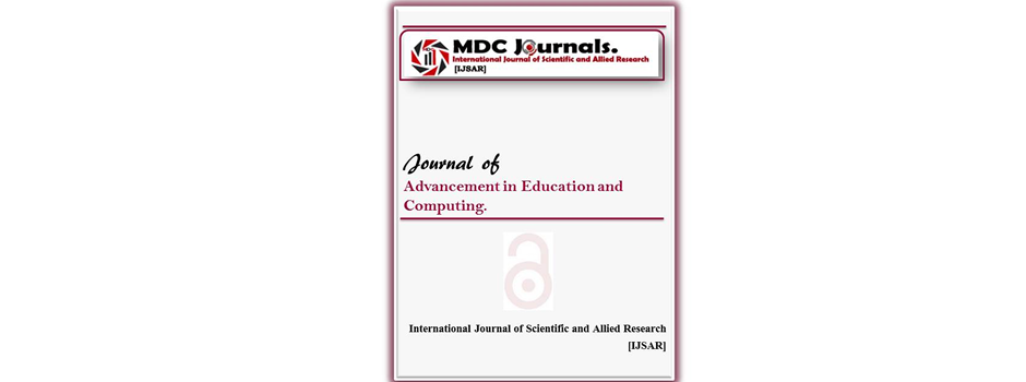 IJSAR-JAEC  Journal of Advancement in Education and Computing (IJSAR-JAEC)
