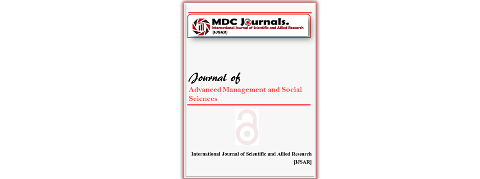 IJSAR-JAMSS  Journal of Advanced Management and Social Sciences (IJSAR-JAMSS)