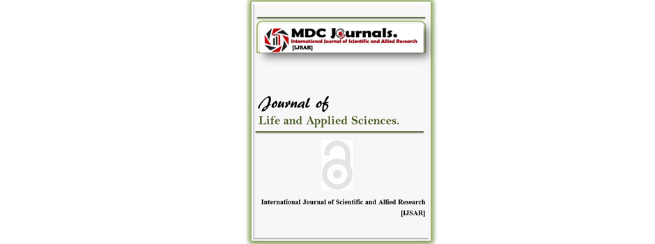 IJSAR-JLAS  Journal of Life and Applied Sciences (IJSAR-JLAS)