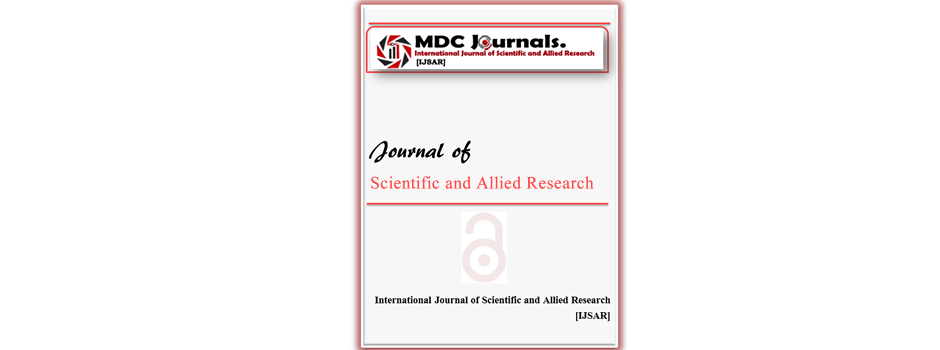 IJSAR   INTERNATIONAL JOURNAL OF SCIENTIFIC AND ALLIED RESEARCH